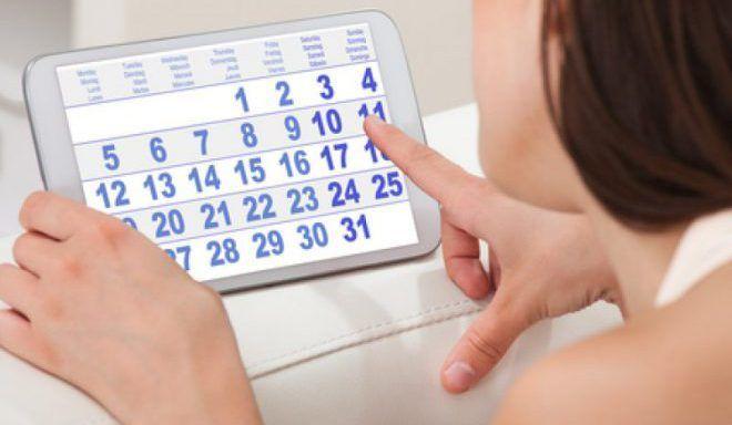Менструальный цикл заканчивается только на 21–25-ый день