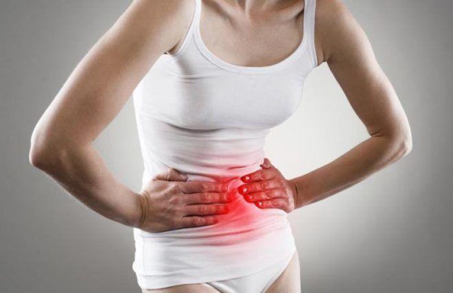Боль в животе возникает перед началом менструации