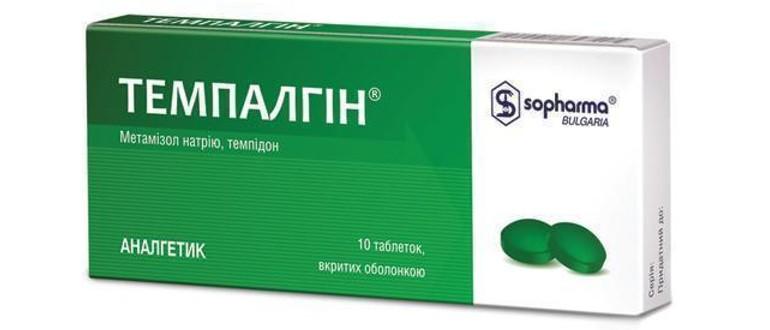 Темпалгин от головной боли
