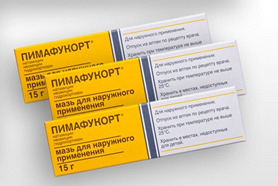 Пимафукорт назначают, если отомикоз сопровождается воспалением