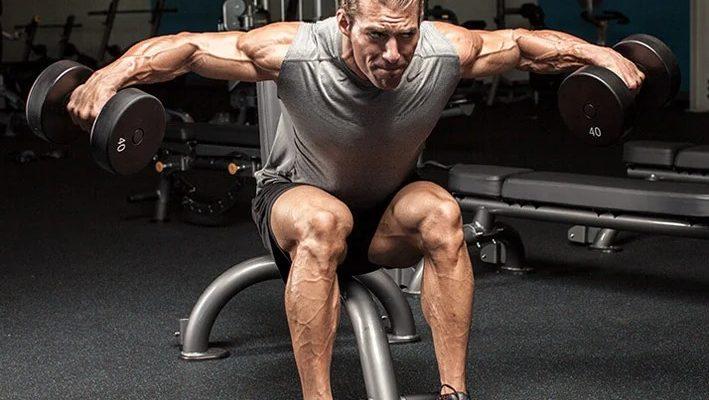 Упражнения на плечи с гантелями: техника и противопоказания