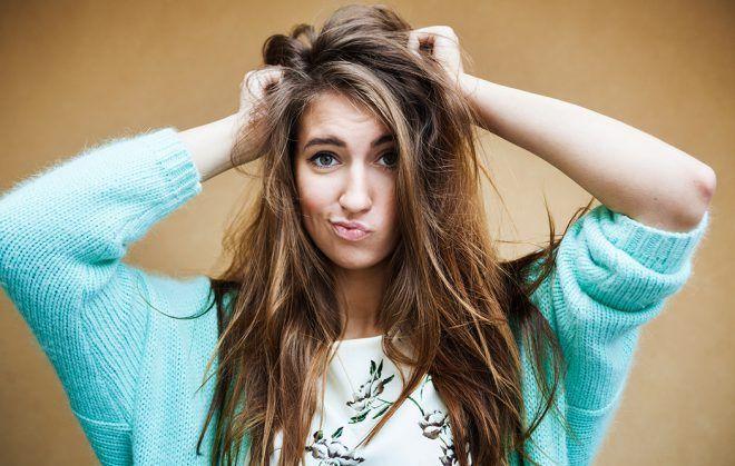 Отсутствие густоты волос