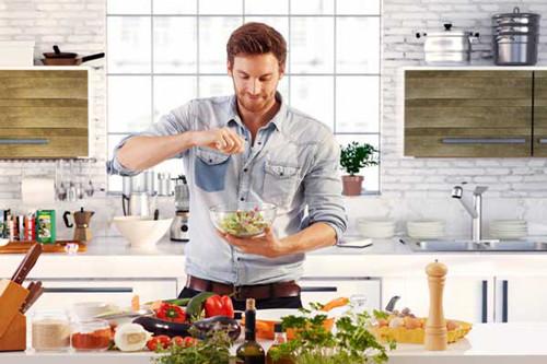 мужчина кухня правильное питание