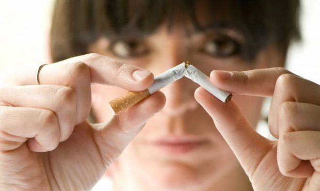 Отказаться от курения