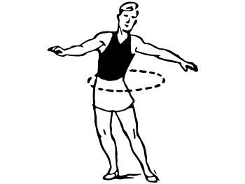 Круговые вращения тазом