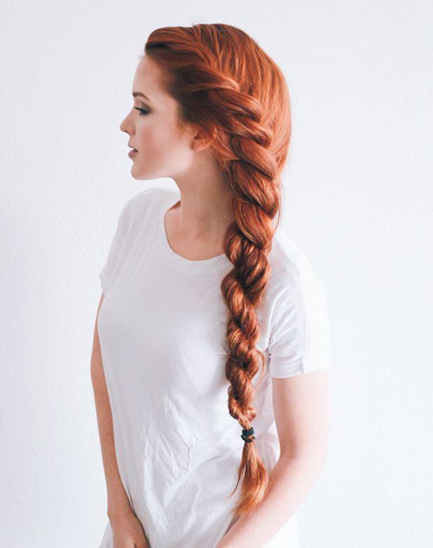 Модная коса-канат
