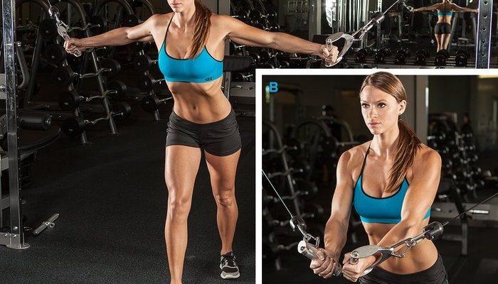 Изолирующие упражнения: подборка на все группы мышц