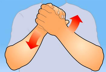 Вращение кисти рук
