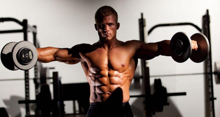 Тренировка плеч: делаем широкие плечи