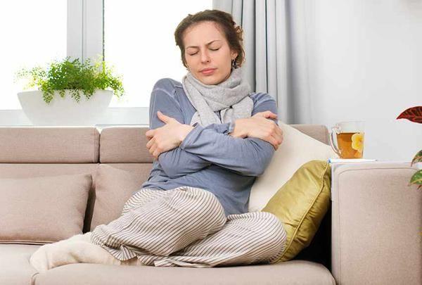 Сильная простуда влияет на менструальный цикл