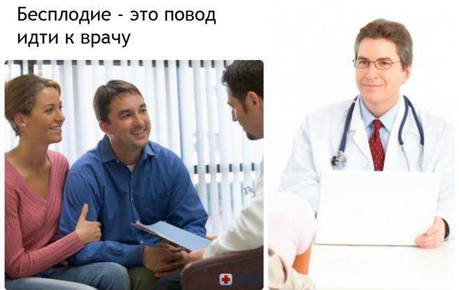 Бесплодие - это повод идти к врачу
