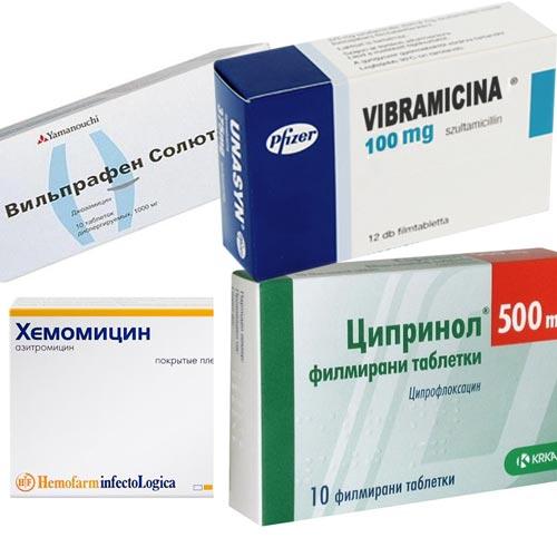 Препараты от хламидиоза у мужчин