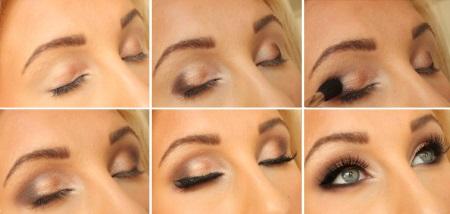 макияж для блондинок на новый год