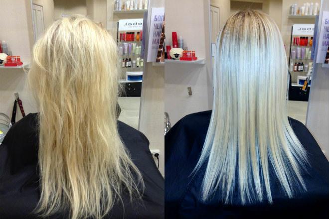 Счастье для волос lebel фото до и после