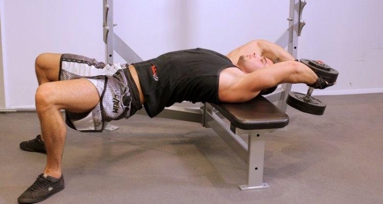 Пуловер упражнение: эффективно для грудных мышц