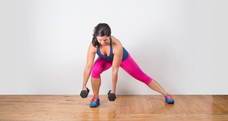 Упражнения выпады: техника выполнения