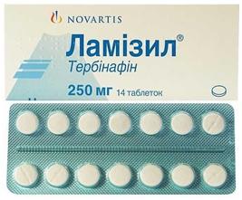 Передозировка возможна при приеме таблеток Ламизил