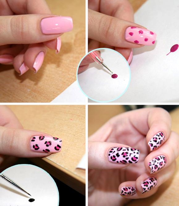 вдохновиться легкие рисунки для ногтей делом