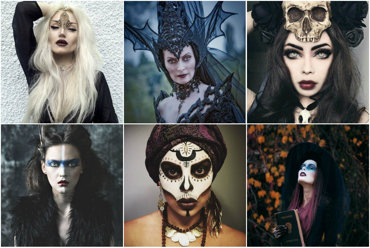 идеи образов на хэллоуин фото найти пошаговое
