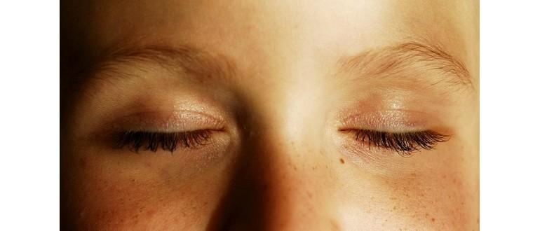 Мерцание и блики в глазах