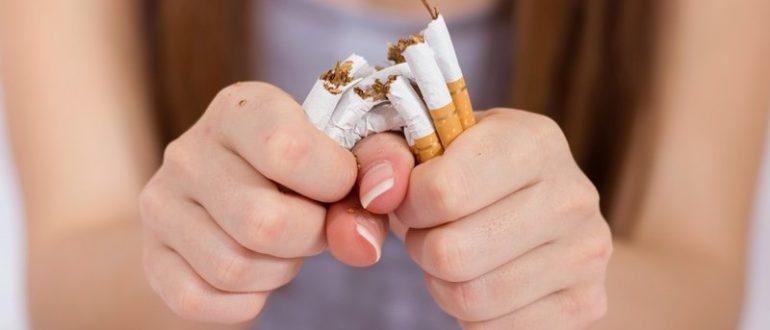 После отказа от курения болит голова