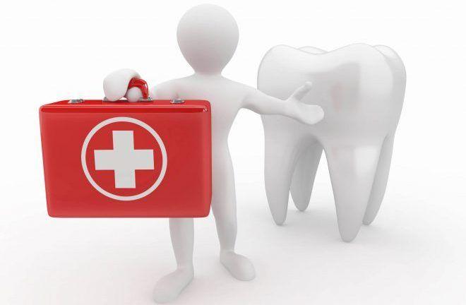 Общий осмотр зубной полости
