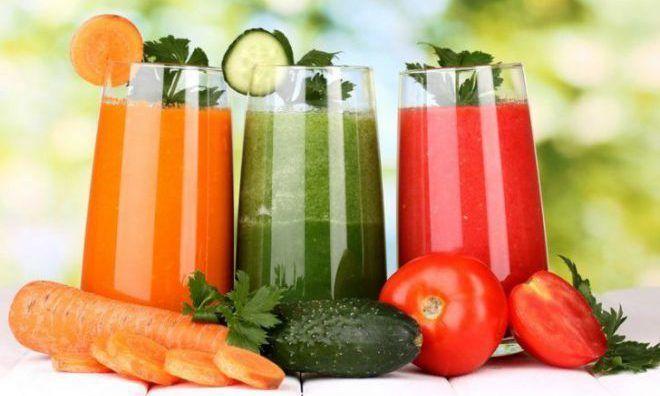 Овощные свежевыжатые соки из огурцов