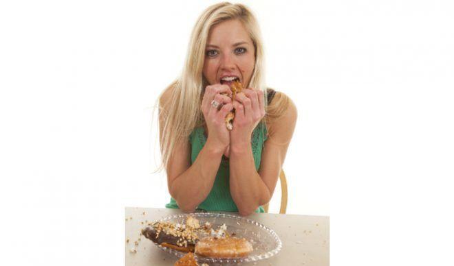 Увеличение аппетита перед месячными