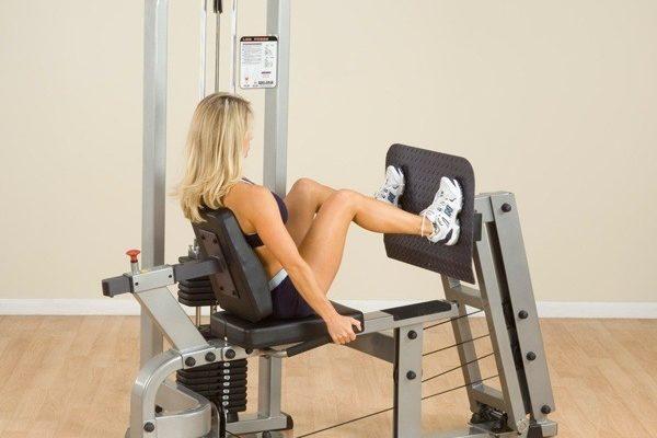 Жим ногами в тренажере: разновидность и техника