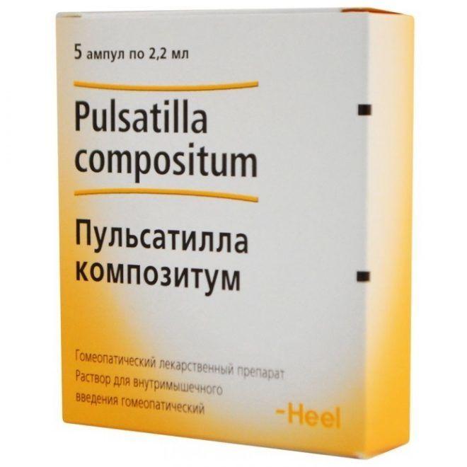 Пульсатилла препарат