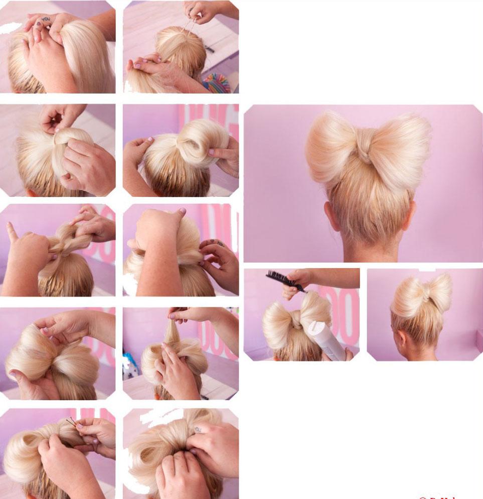 картинки как делать из волос бантик на голове примера приобретал пропитку