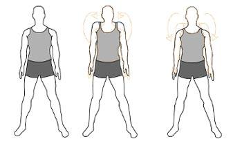 Вращение плечами