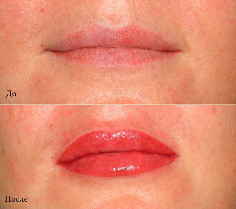 Сайт о красоте и здоровье!,Перманентный макияж губ: виды, порядок проведения и стоимость процедуры