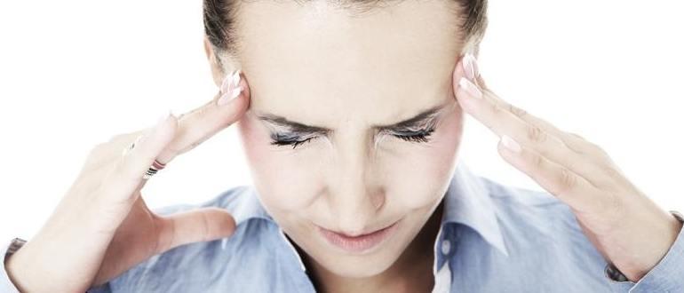 Сильная головная боль и тошнота