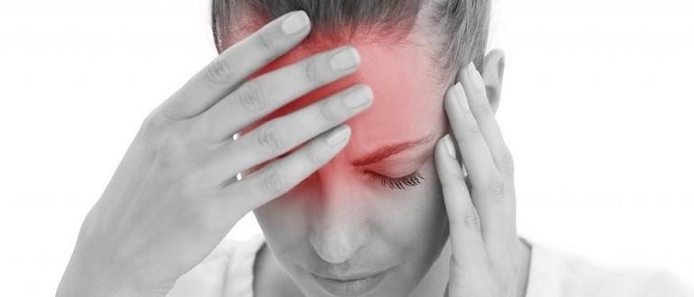 После плача болит голова